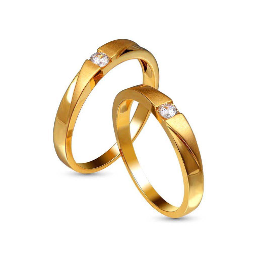 Giá cặp nhẫn cưới vàng 18K