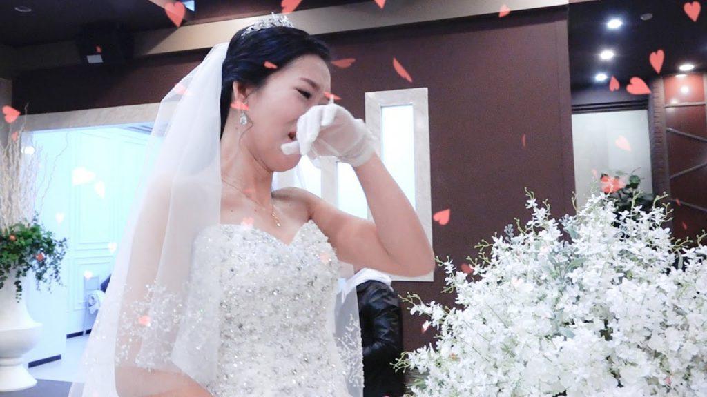 Điều gì sẽ xảy ra khi bạn khóc vào ngày cưới