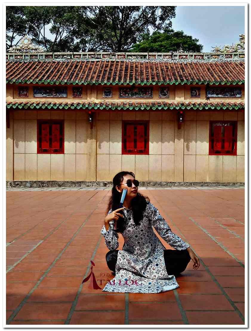 Áo dài cô 3 Sài Gòn trắng