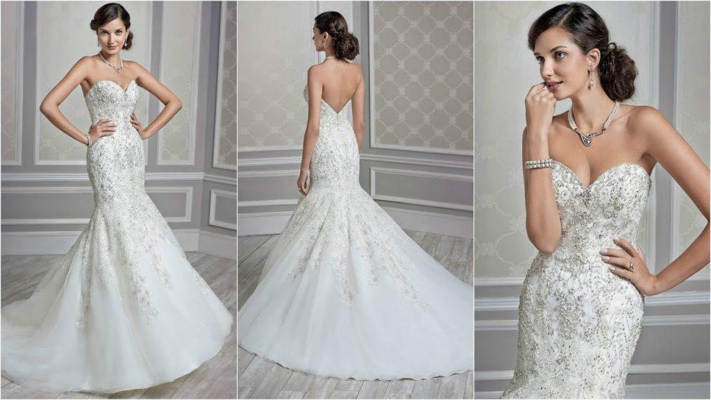Váy cưới đuôi cá Vera Wang