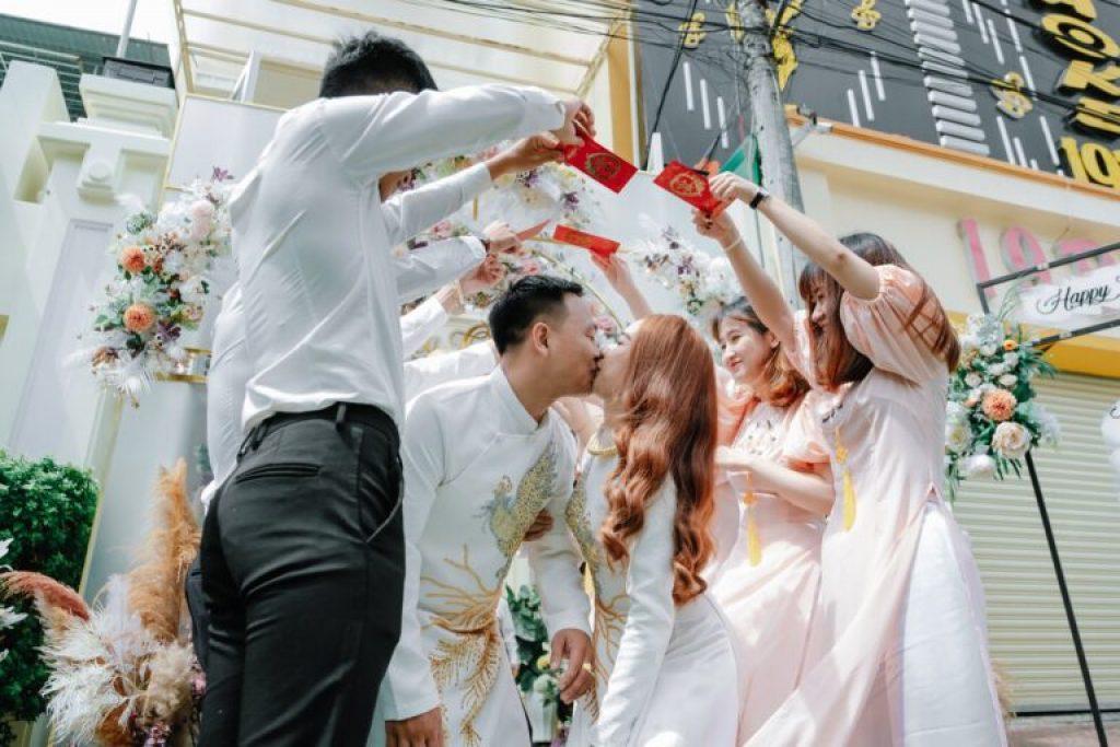 Áo dài cưới đẹp ở TPHCM