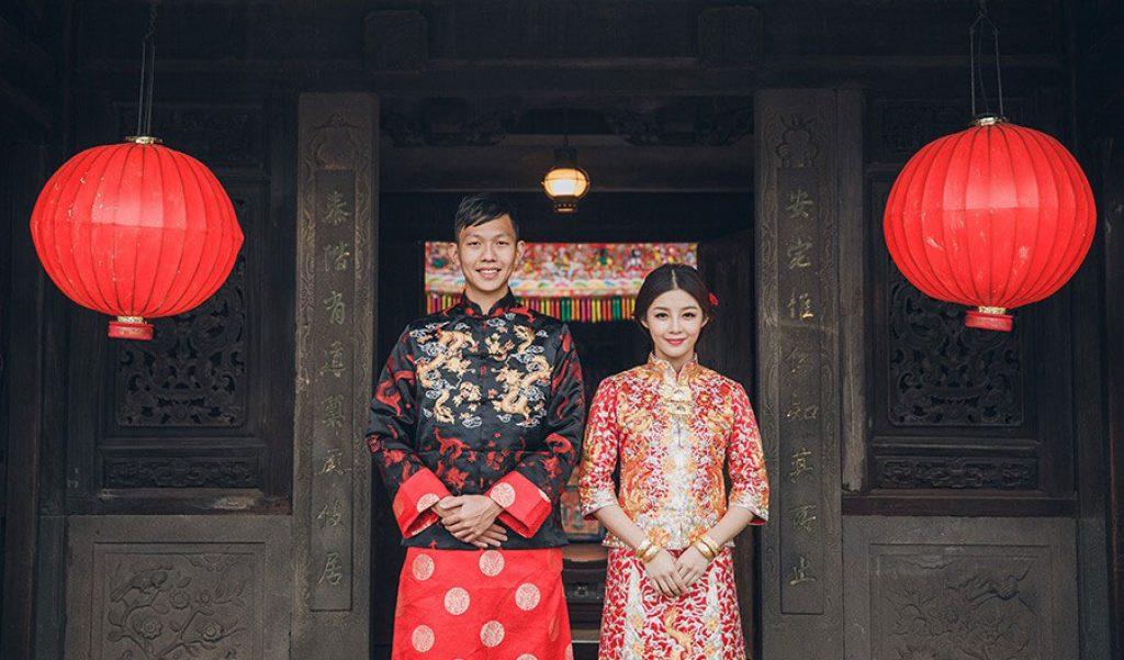 Một số thông tin thú vị về áo cưới truyền thống Trung Quốc