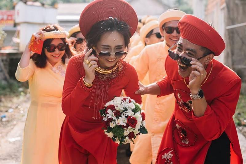 Tại sao nên chọn áo dài cưới màu đỏ cho ngày trọng đại?