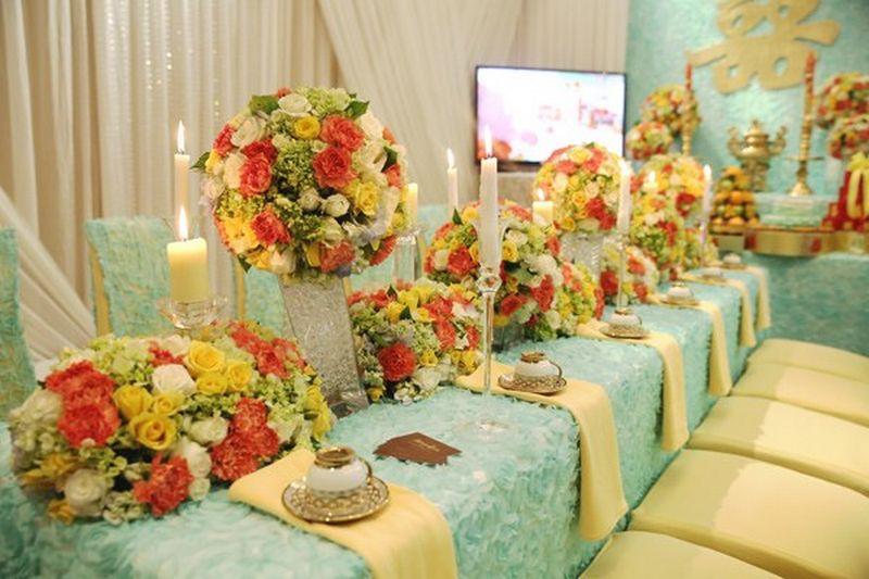Mẫu trang trí bàn thờ gia tiên đẹp