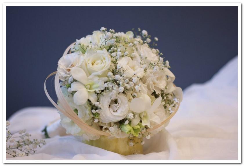 Mẫu hoa cưới trắng theo phong thủy