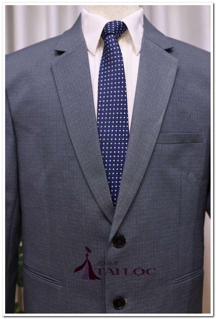 Áo vest nam trung niên màu ghi