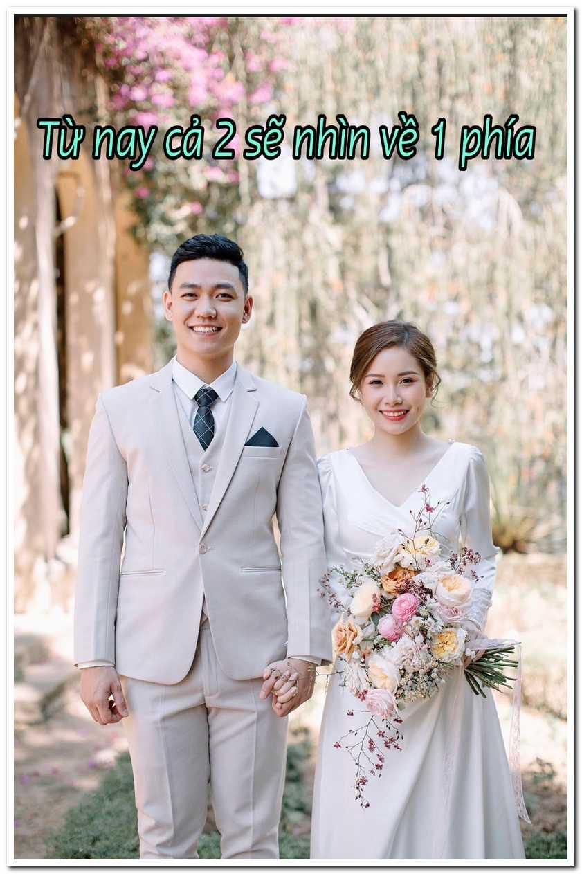 Chúc mừng đám cưới bằng thơ