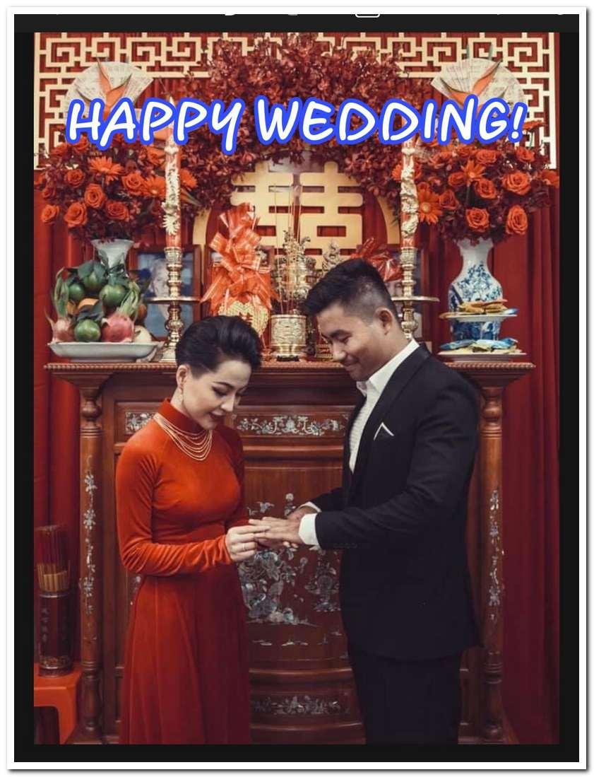 Những câu chúc đám cưới hài hước