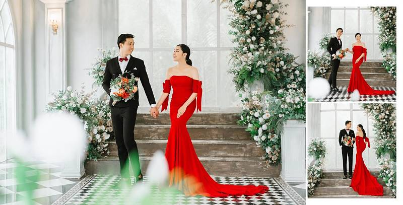 Giá thuê áo vest cưới cho nam trung bình giao động từ 400.000- 1 triệu VND