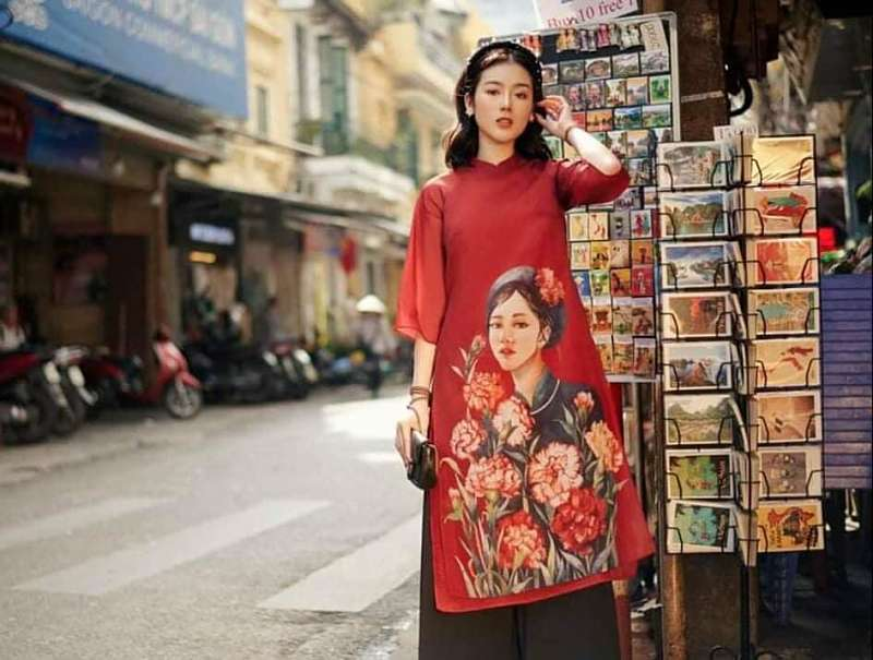 dịch vụ thuê áo dài cách tân hiện nay rất nhanh chóng và tiện lợi